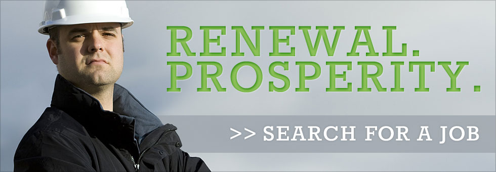 Jobs: Renewal Prosperity